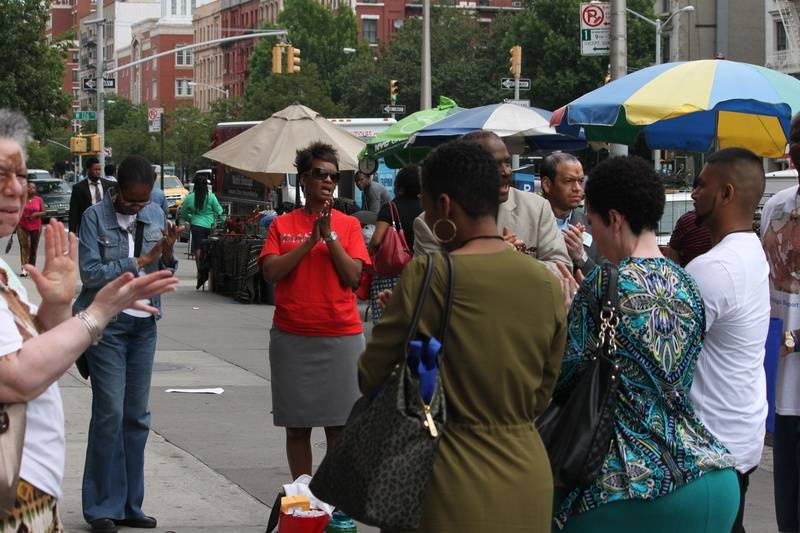 The ladies taking it to the streets of Harlem, NY