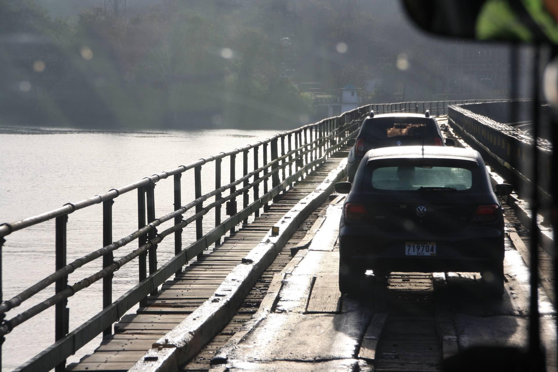 Bridge over Changres River at Gamboa