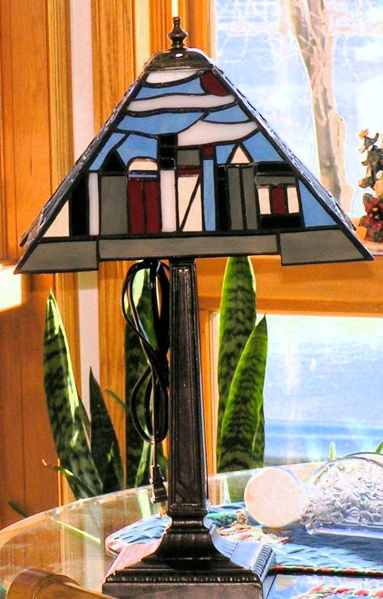 City Scape Lamp