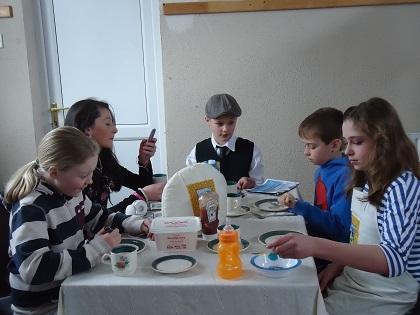 Scene One- A kitchen in Ireland in 2014