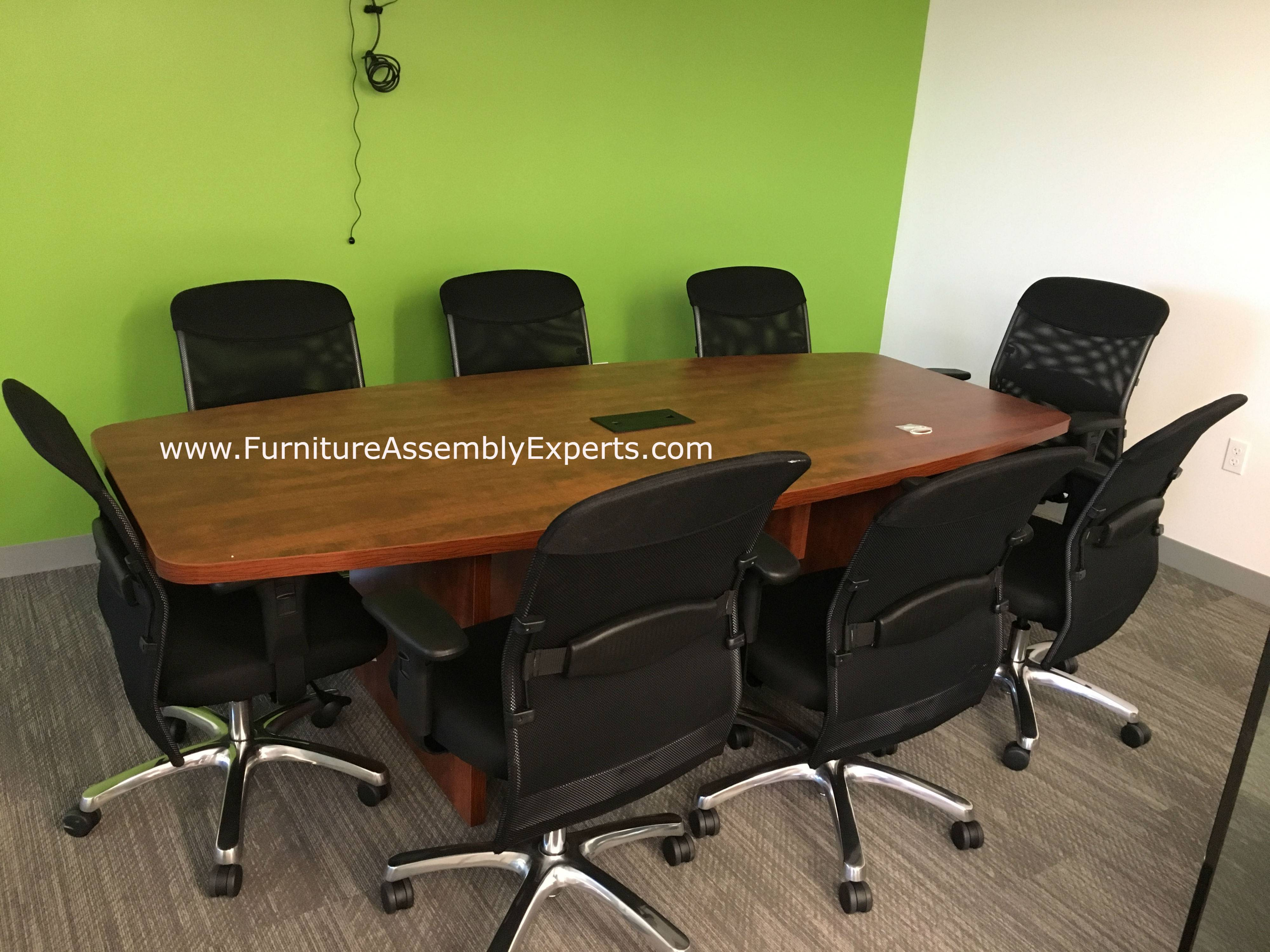 conference table installation service in Glen burnie Maryland