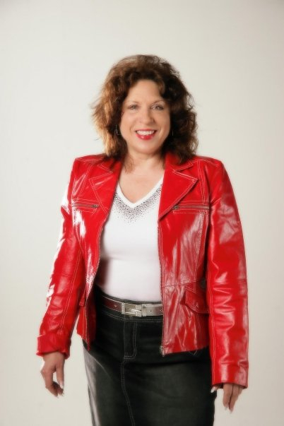 """Kathie FitzPatrick, """"Love that red coat!"""""""