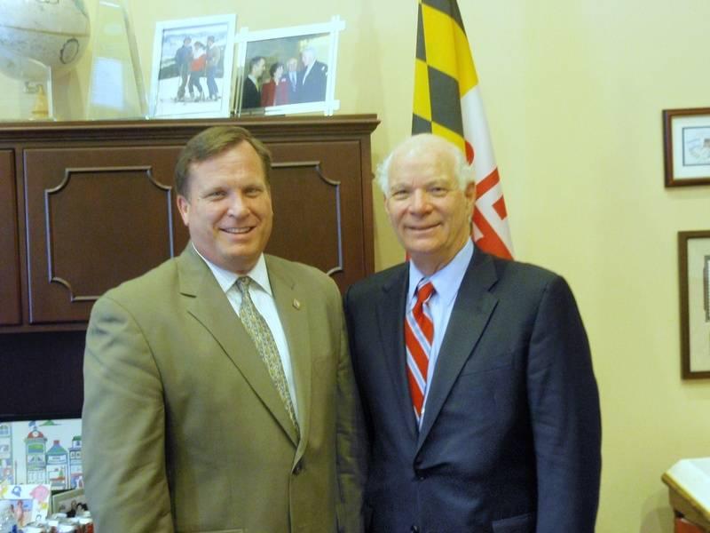 Photo with Senator Ben Cardin