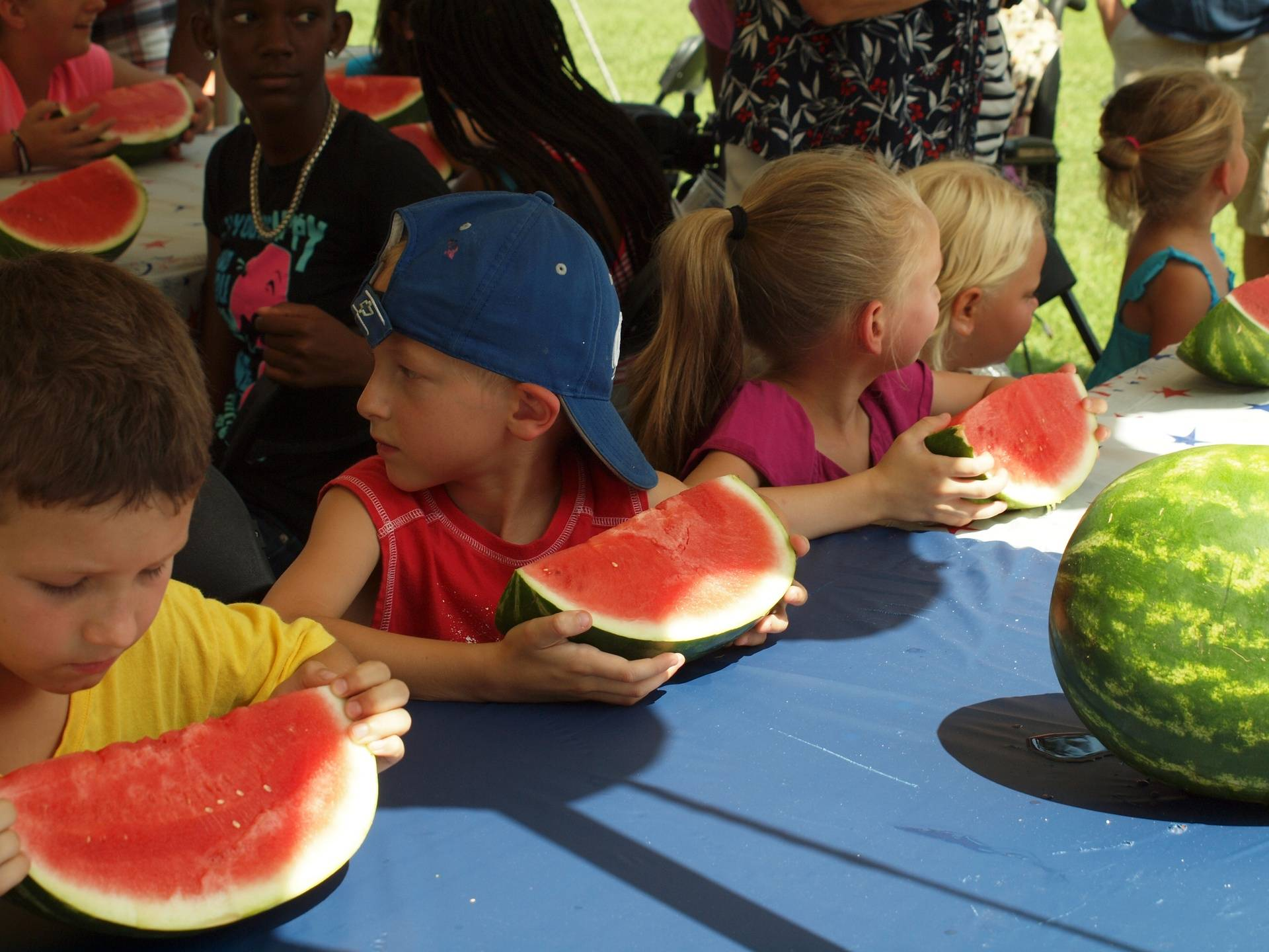 Kids Watermelon contest