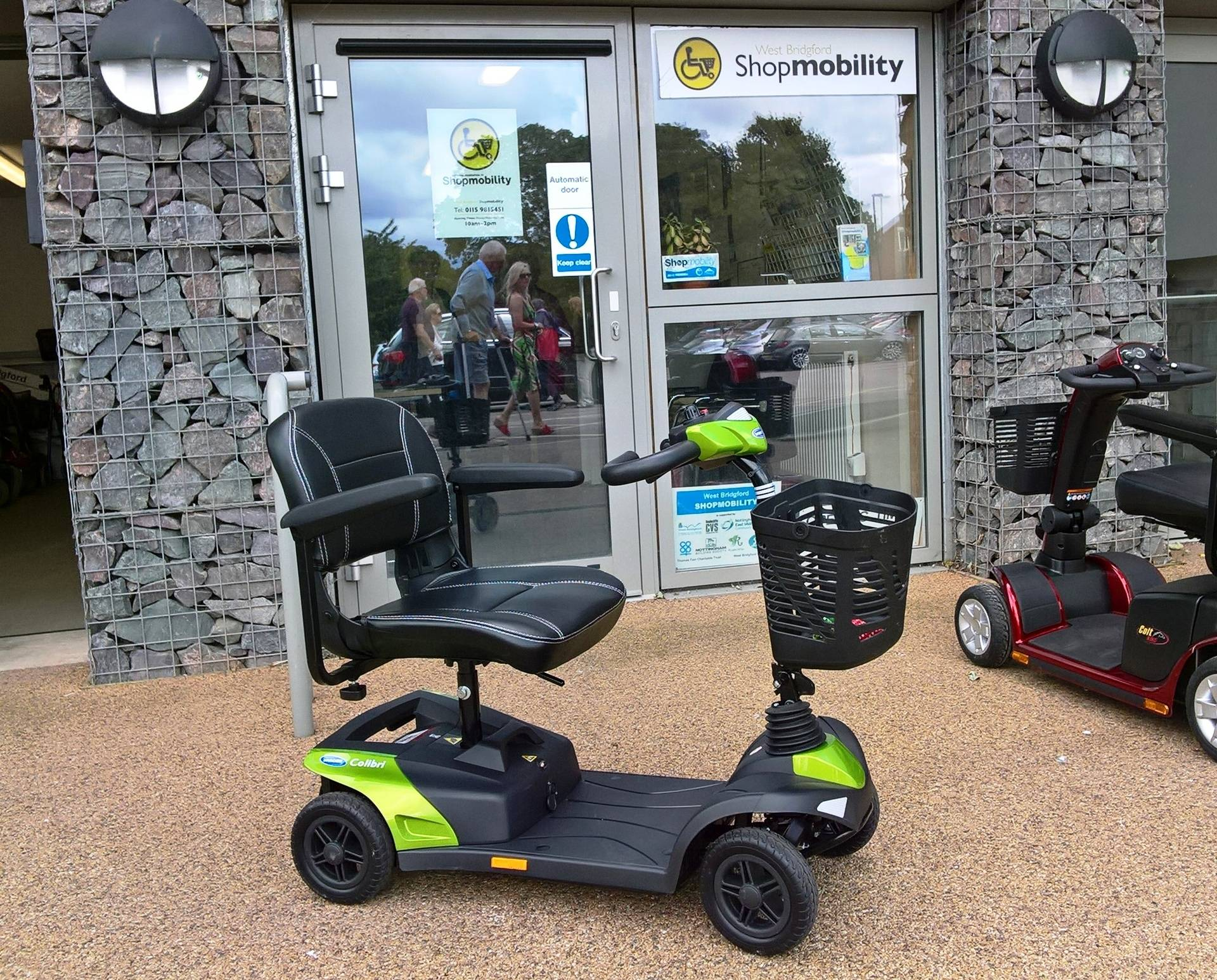 Short-term hire scooter