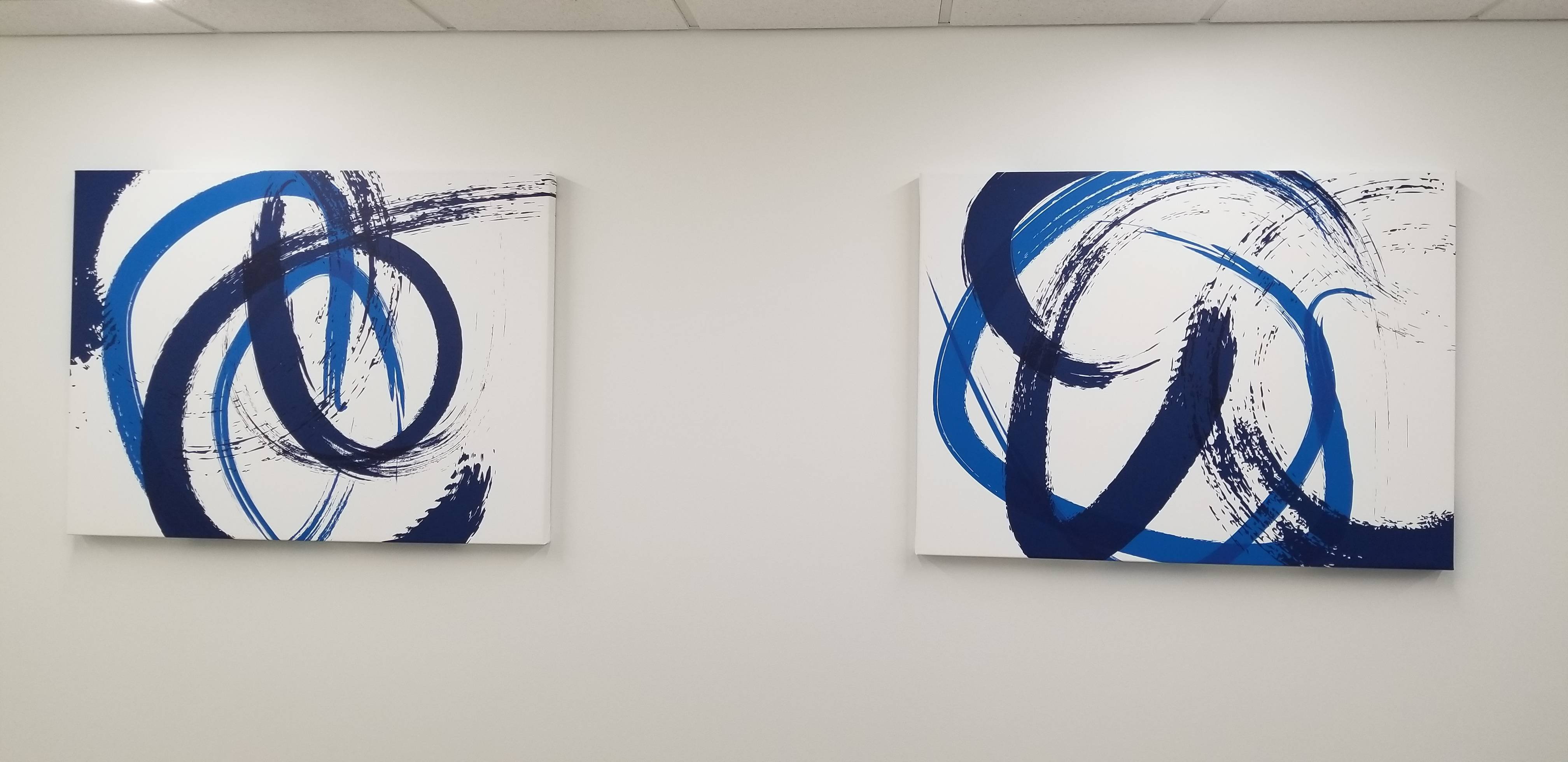 Canvas art installation experts in Baltimore Maryland