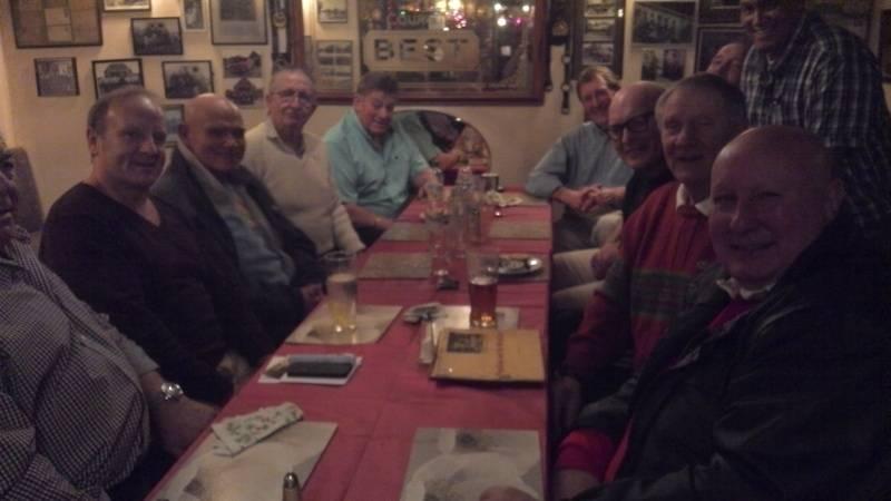 Johnny Wilson,Mal Sanders, Ian Muir, Sid Cooper, Wayne Bridges,Pete Roberts, Tom Tyrone, Frank Rimer, Mel Stuart, Johnny Kincaid