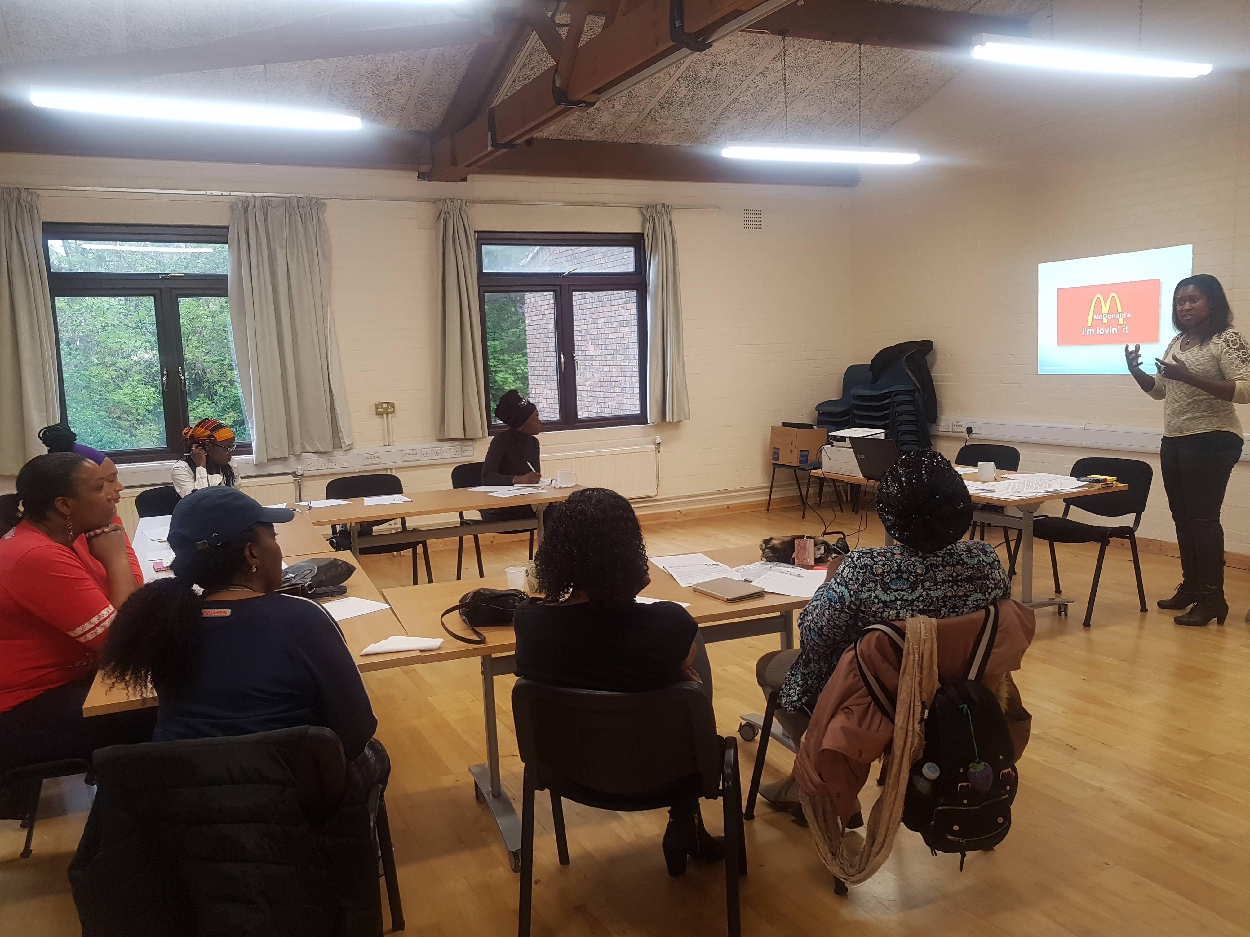 Our facilitator Kunbi