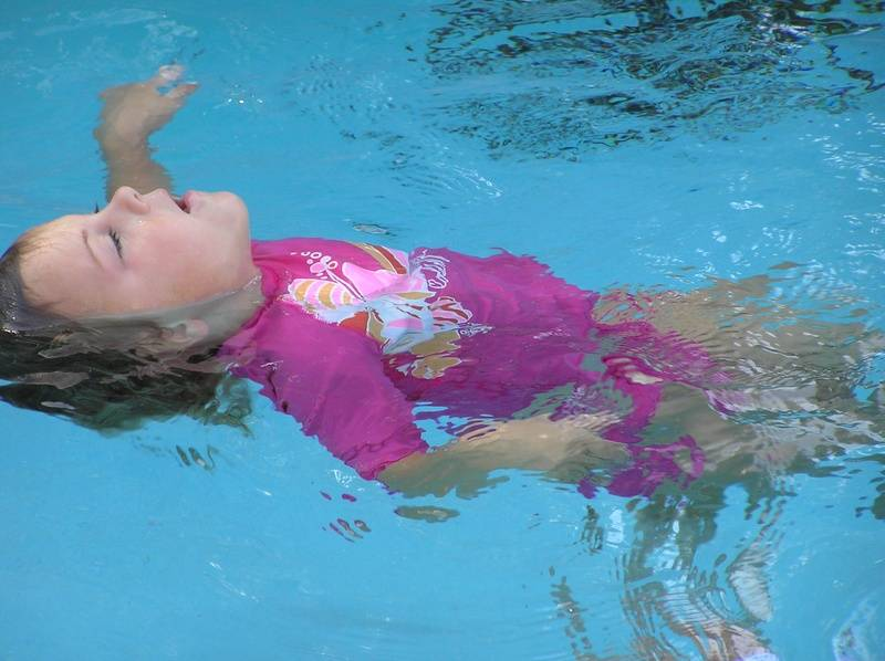 breathing while swimming