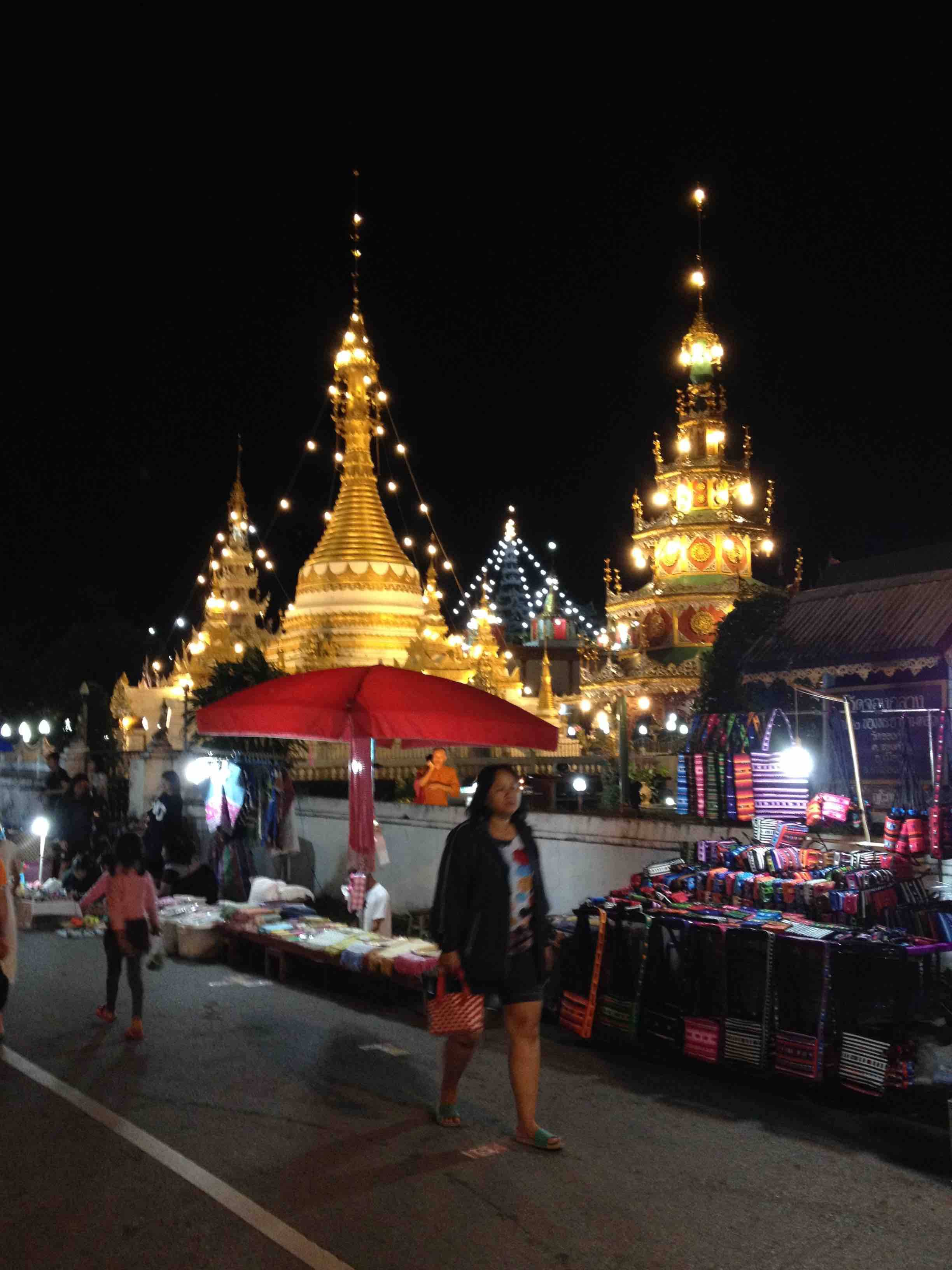 Temple in MaeHongSon