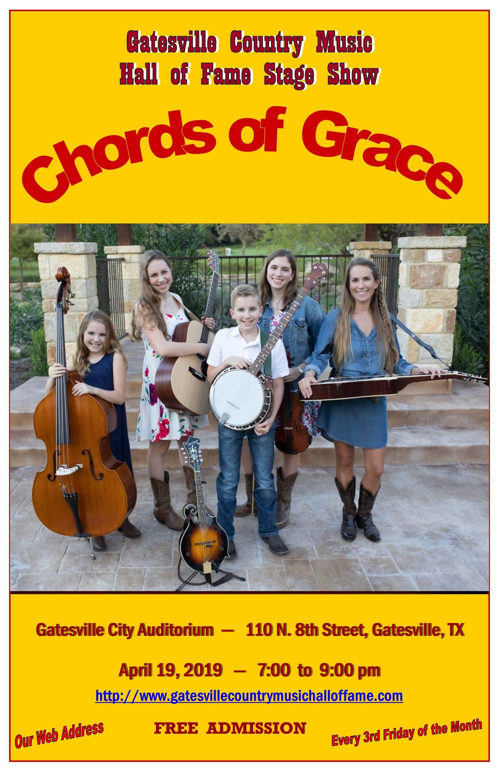 Chords of Grace, April 19, 2019
