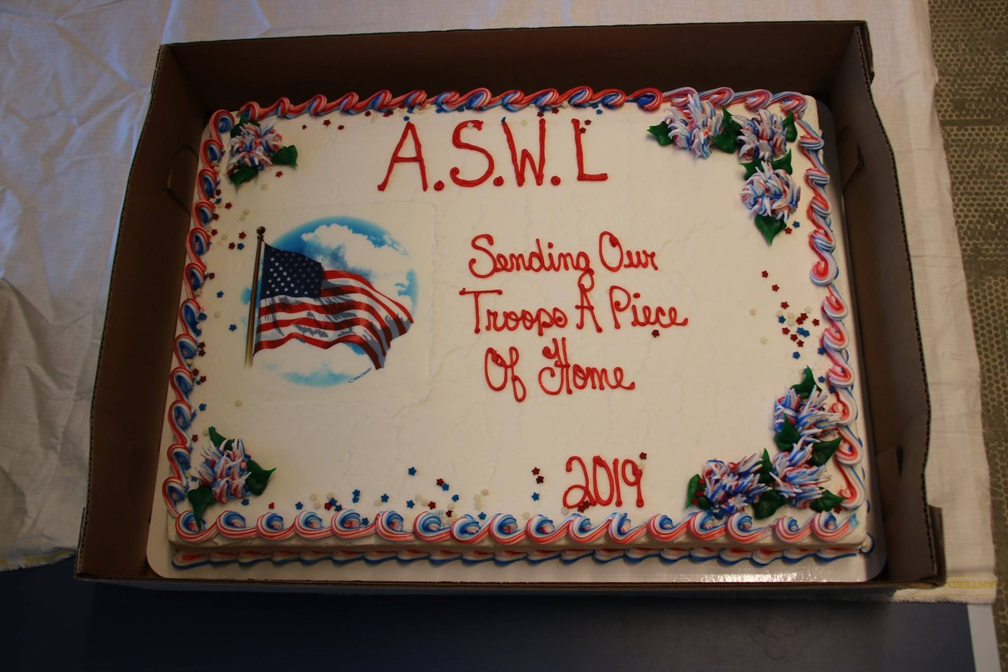 good cake to honor our troops