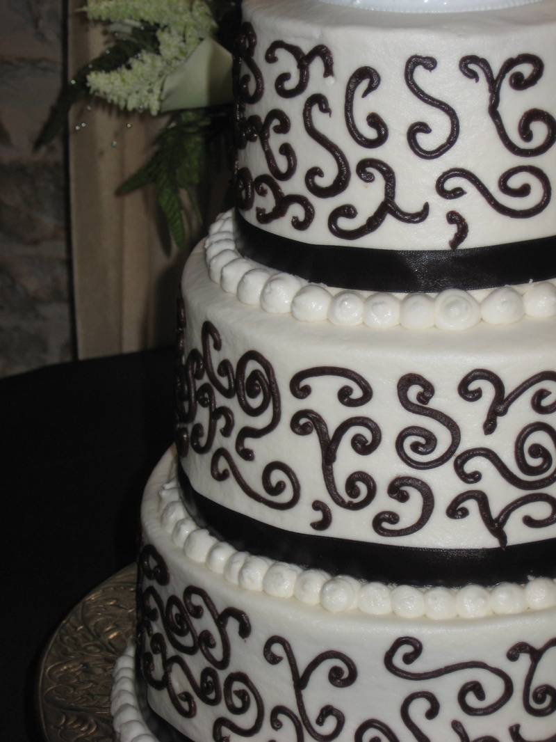 Chocolate Scroll Cake