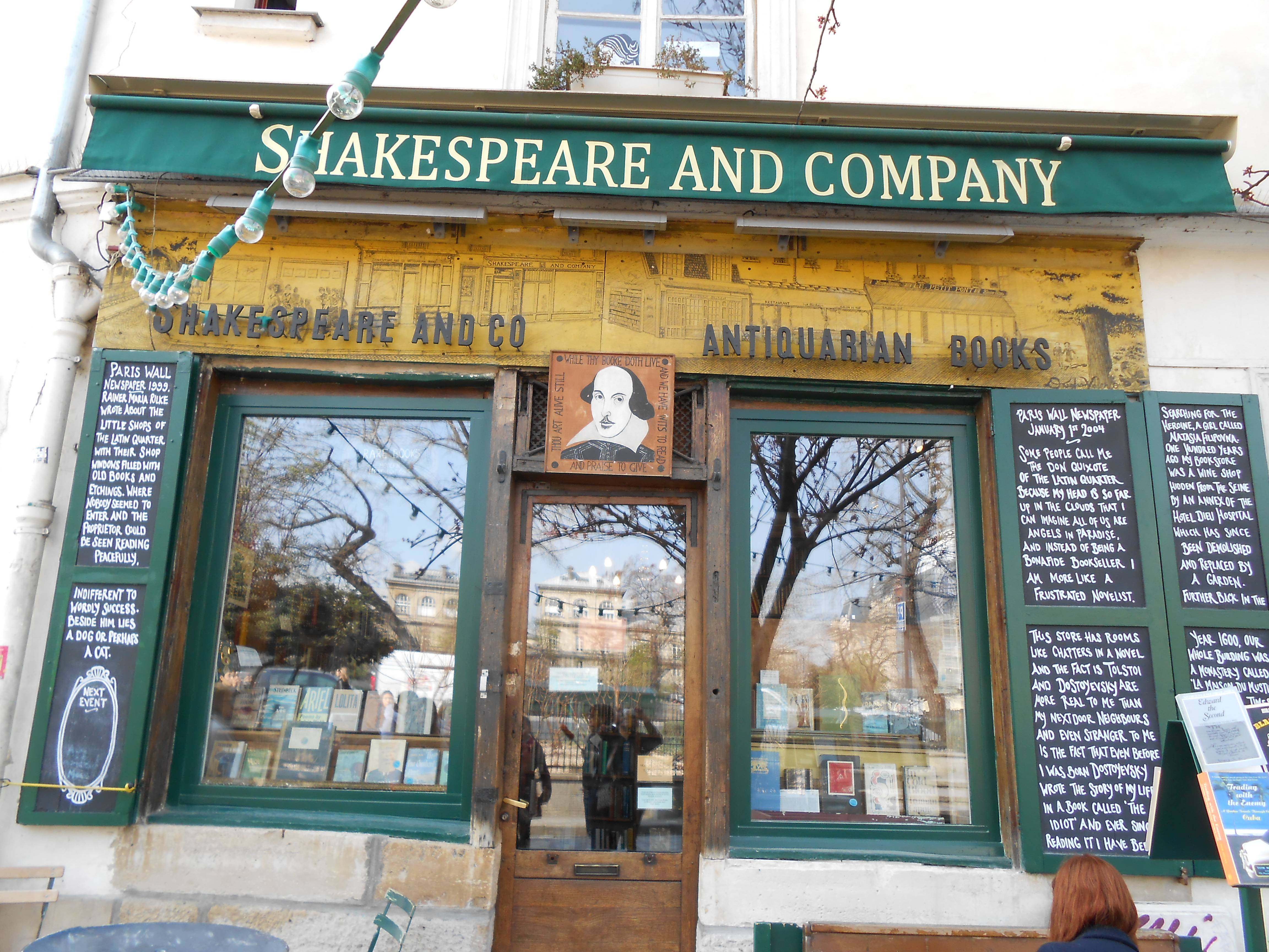 Shakespeare, Paris