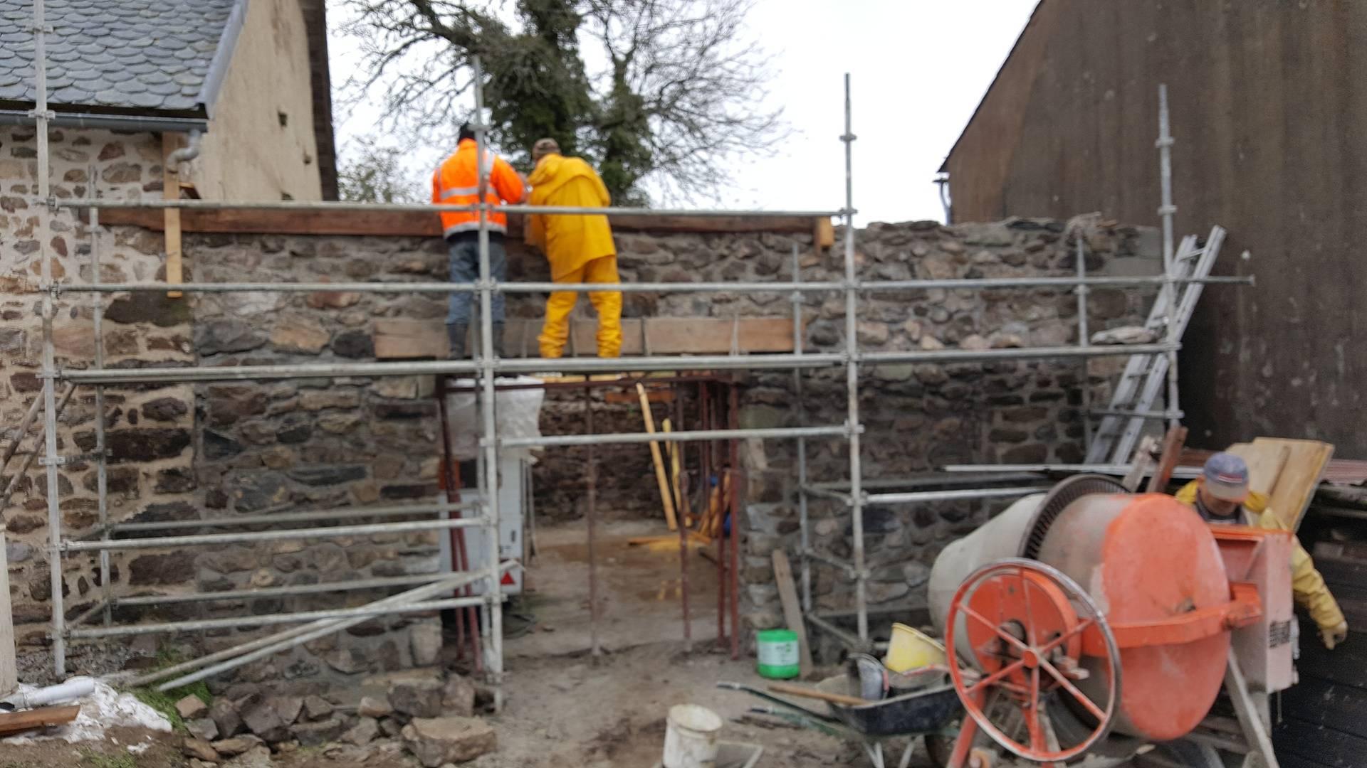 Mur de façade
