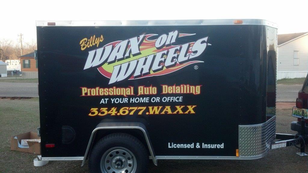 Billy's Wax on Wheels