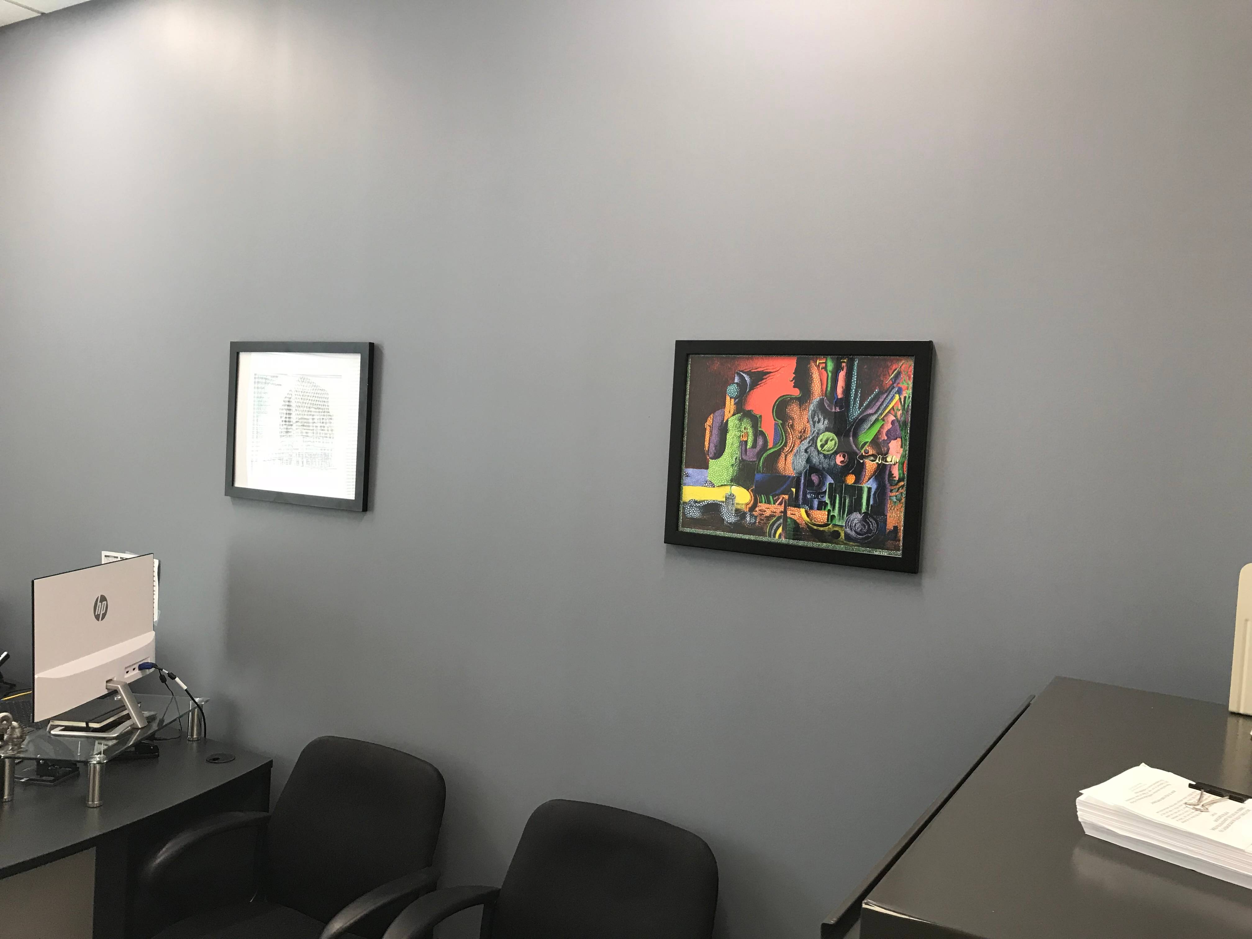 Picture hanging installation in drunkirk  MD