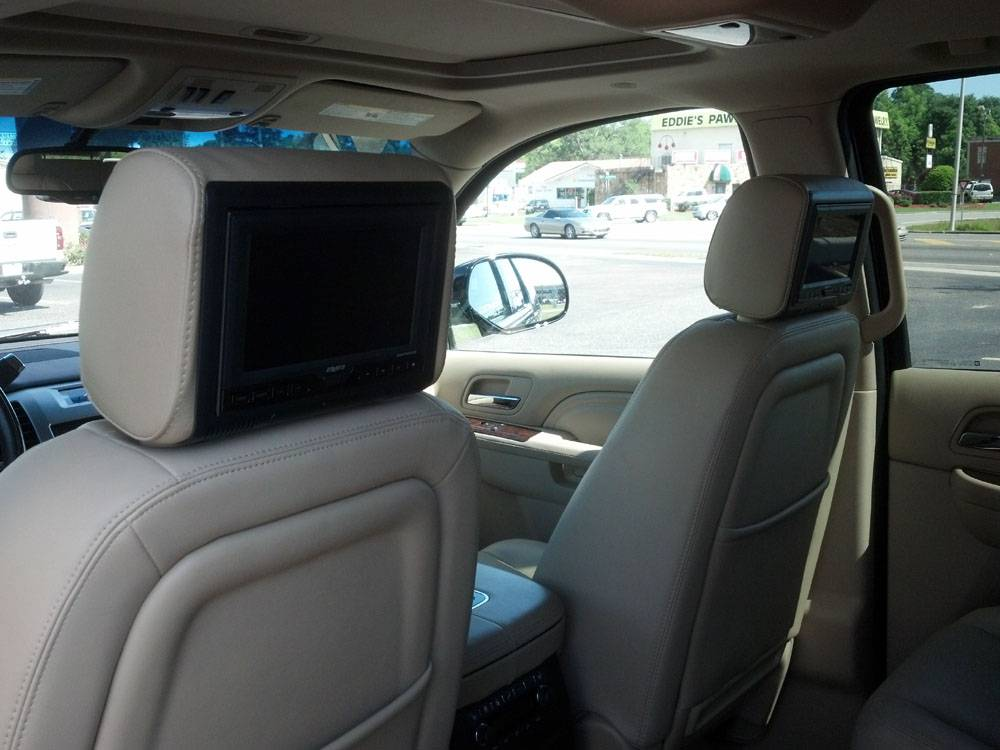 2013 Escalade W/ Headrest DVD