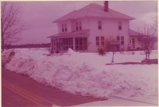 A White Christmas at the Manning Family Home 1970s