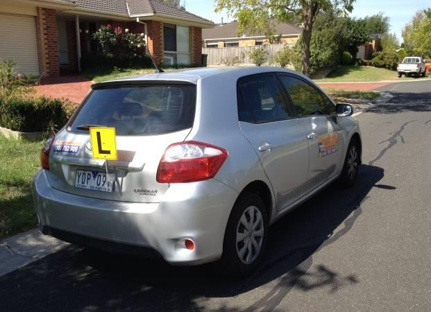 Driving School Caulfield - Toyota Corolla Hatch - Automatic Transmission
