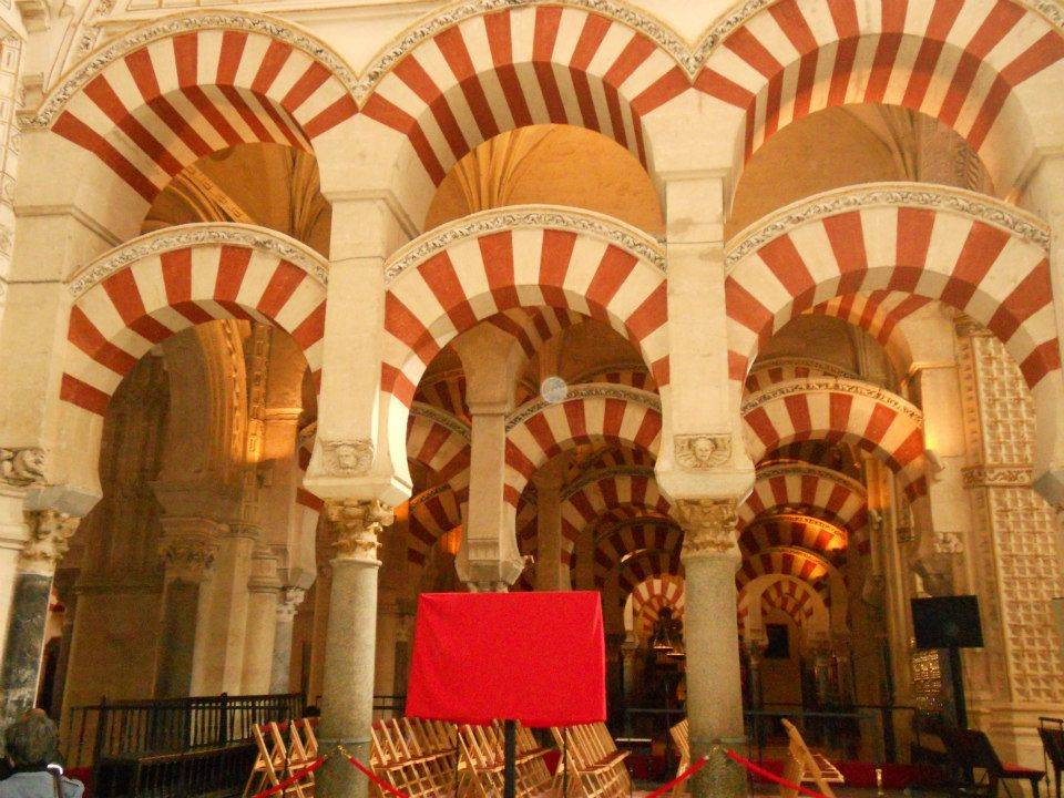 Inside Mezquita, Cordoba