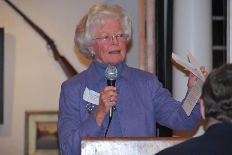 Joan Wehner at 2010 Banquet