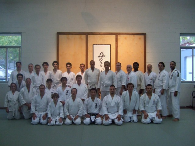 Ushiro Shihan Seminar in NY Oct. 2008