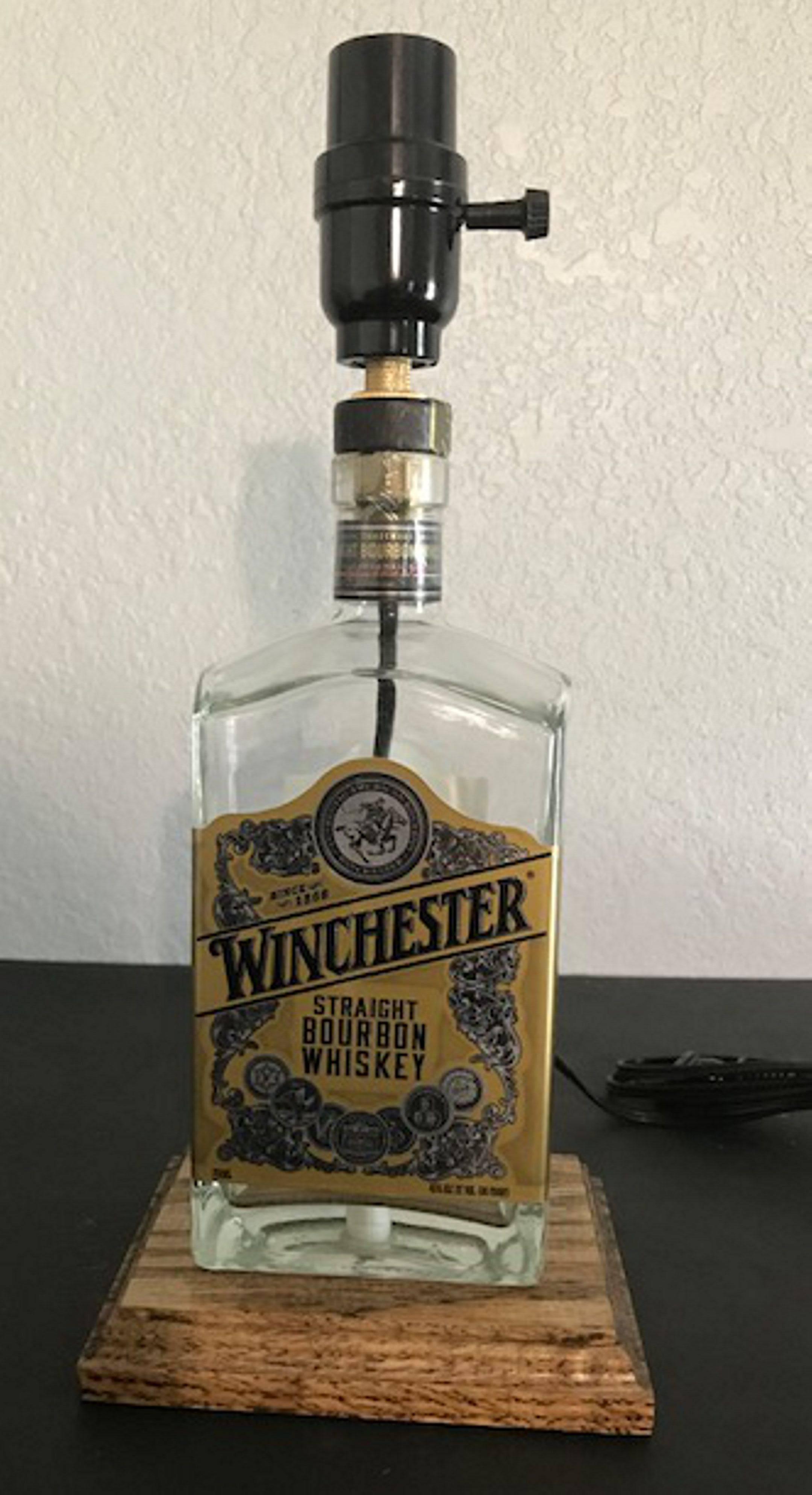Winchester Bourbon Lamp