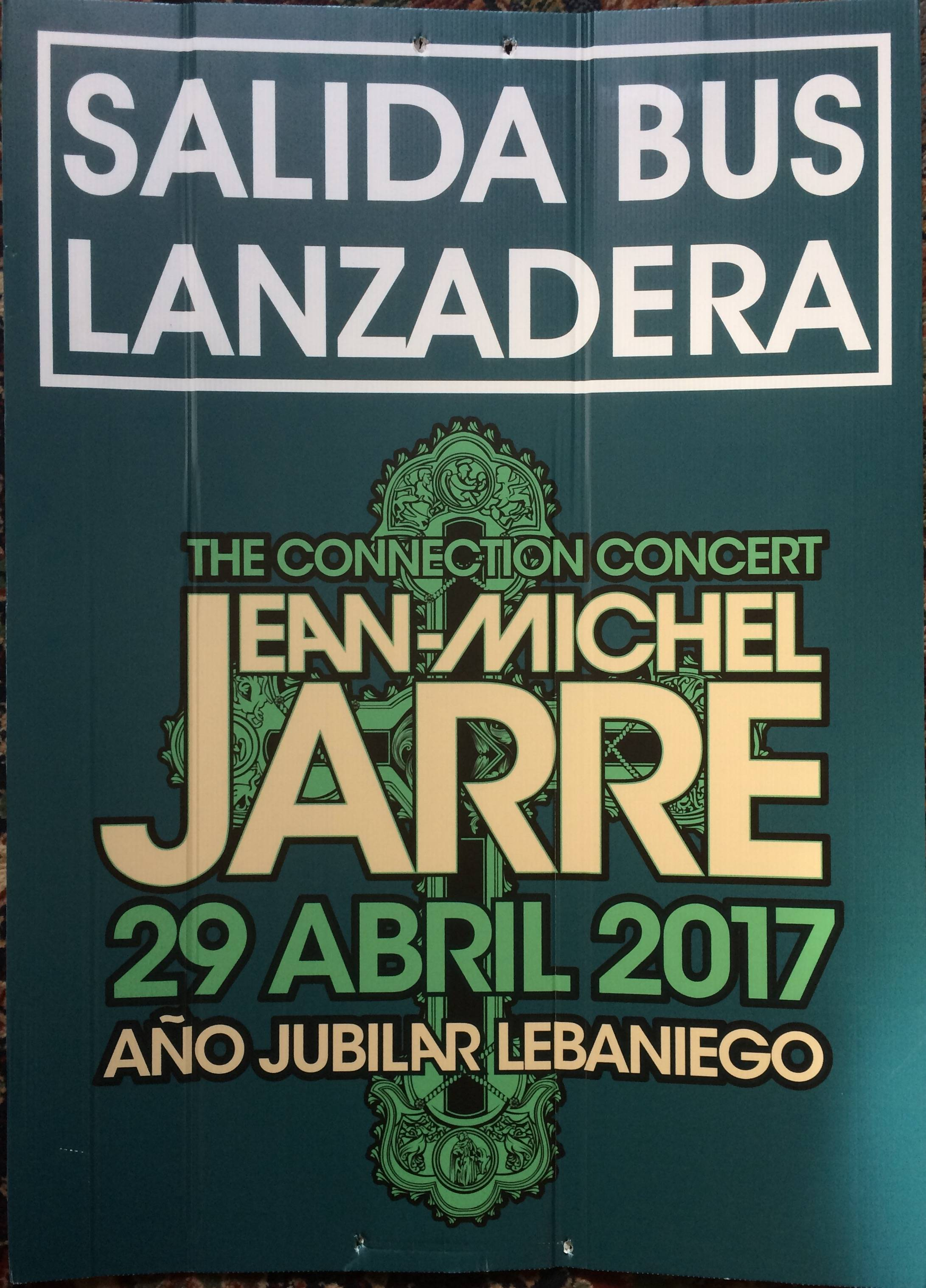 Connection Concert Bus Sign