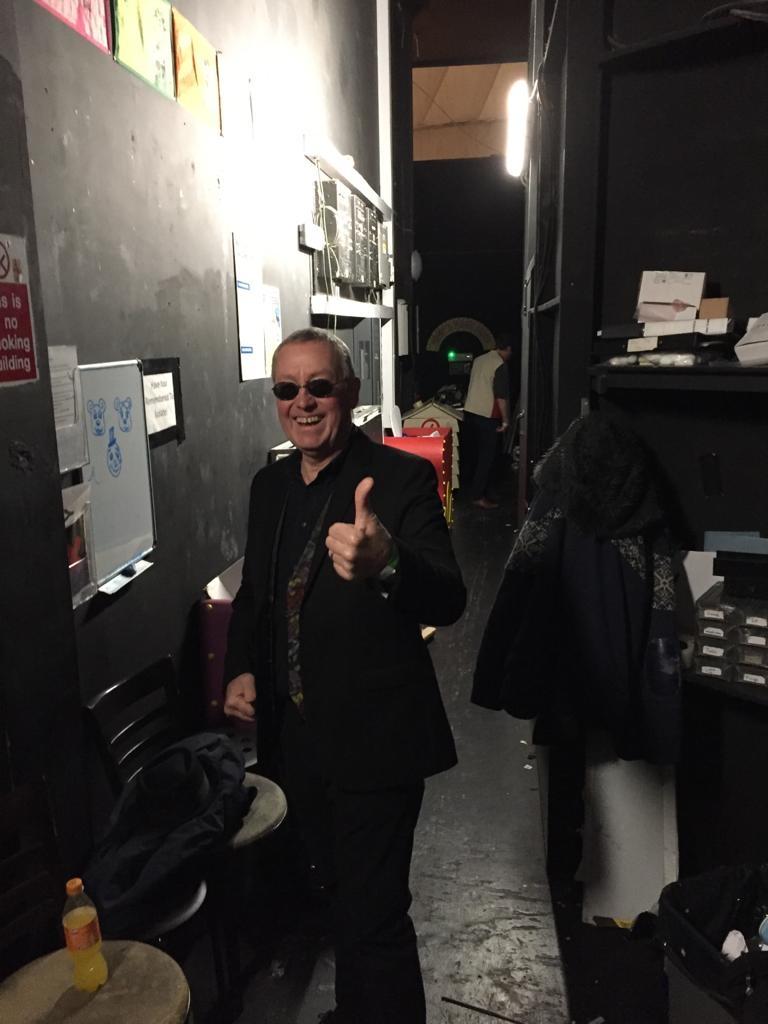 Backstage backline