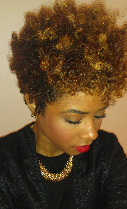 Twist Out Styles