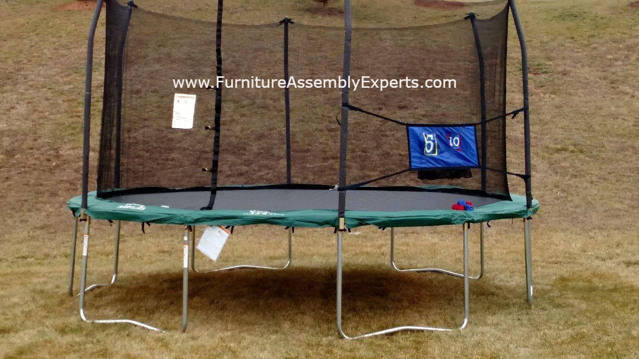 skywalker trampoline removal service in Sterling Virginia