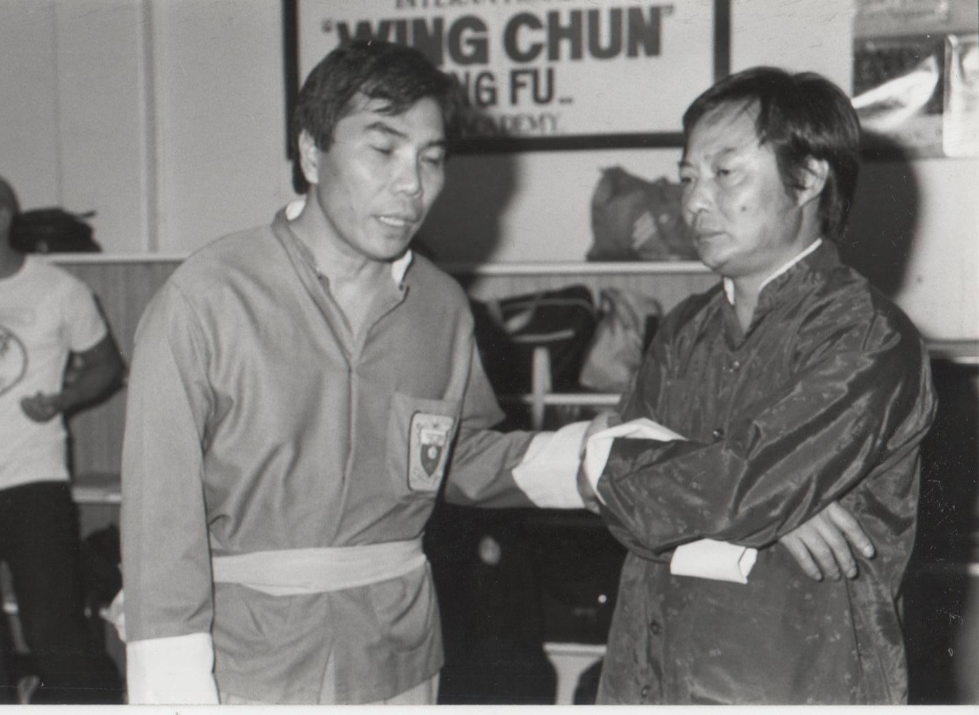 Jimmy Fung and Wong Sheung Leung