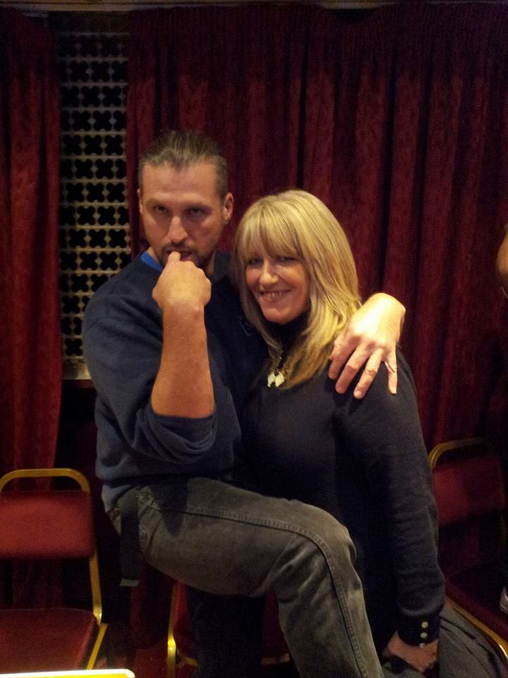 Legend plays about with Emma Yearsley