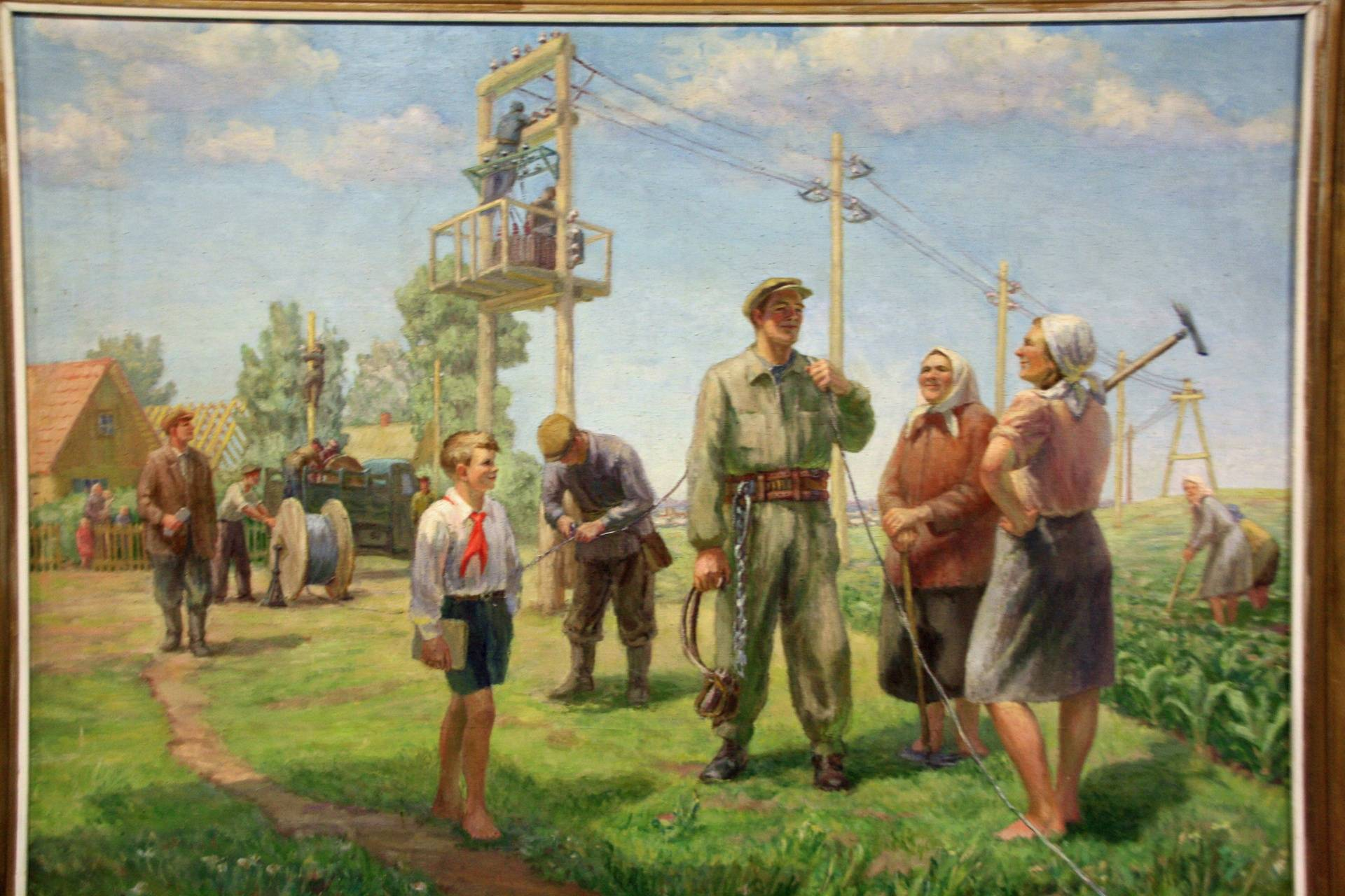 Stalin World (Grutas Park) - painting