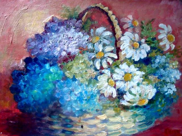 Hydrangeas & Daisies