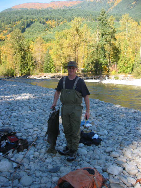 Salmon Salmon & more Salmon! 10-15-02