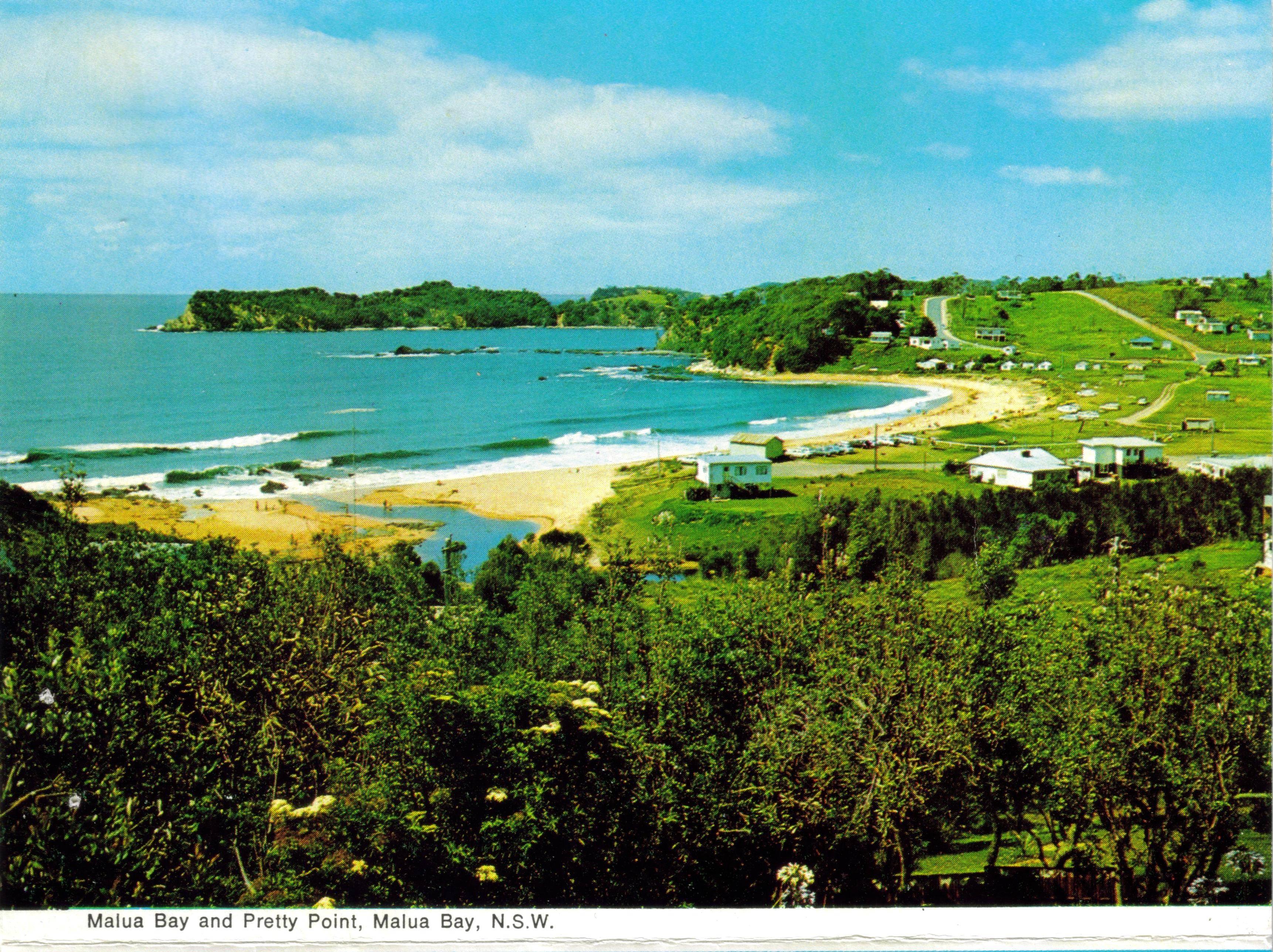 Malua Bay and Pretty Point