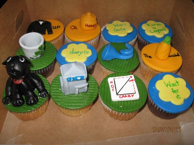 CC26 -'How I Met Your Mother' Cupcakes