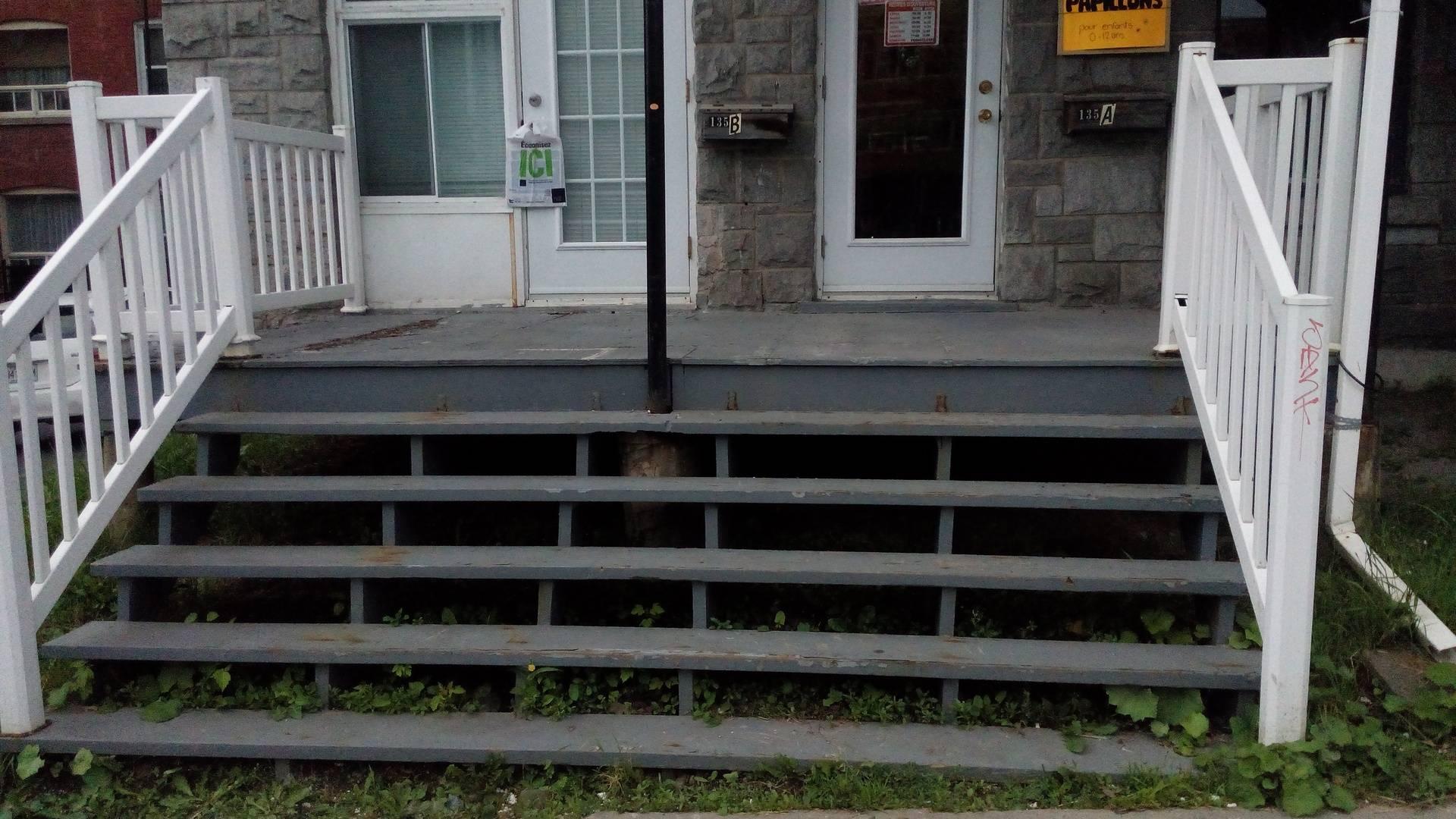 balcons,rampe et marches a changer