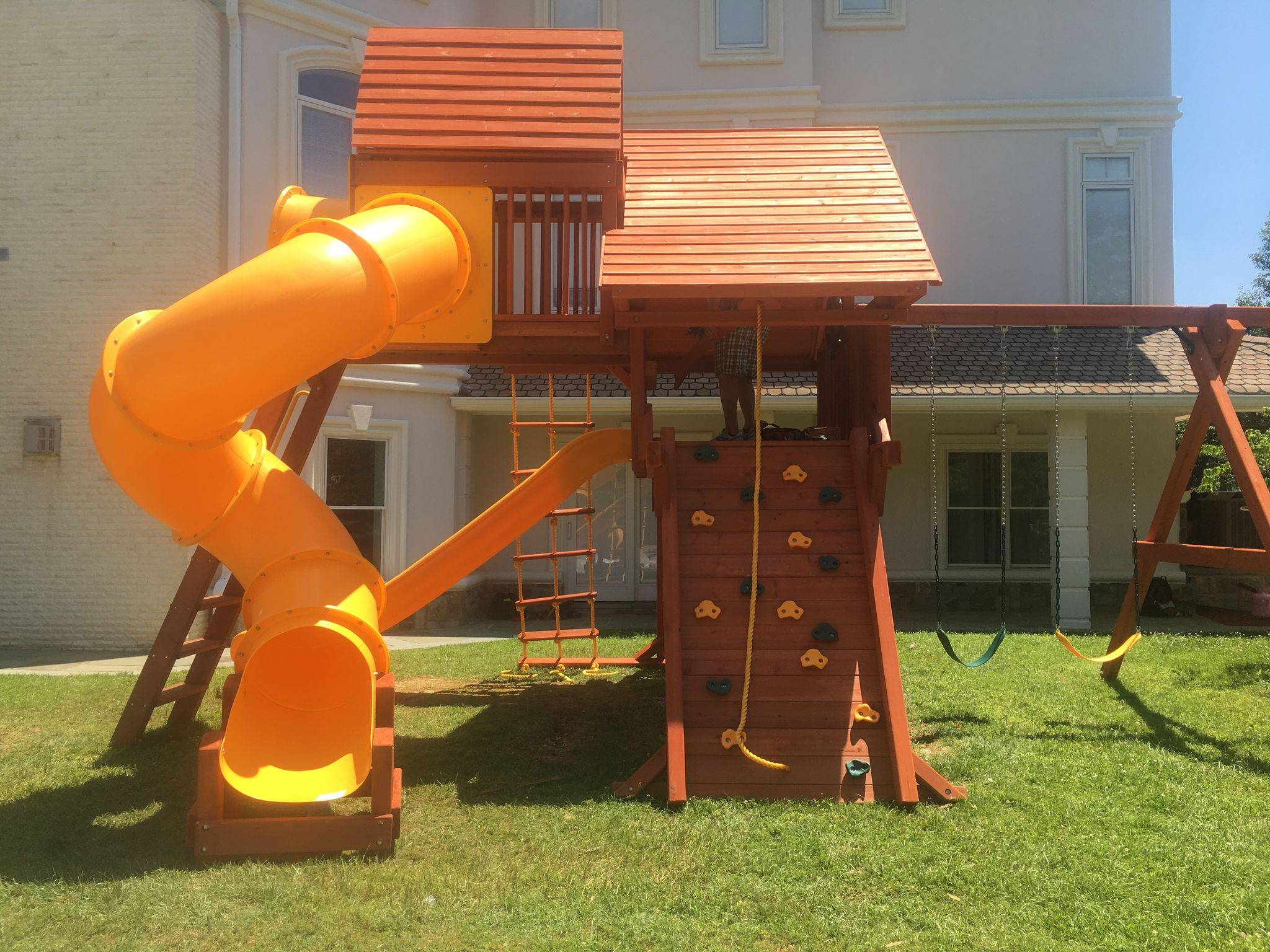 outback swing set assembly in potomac Maryland