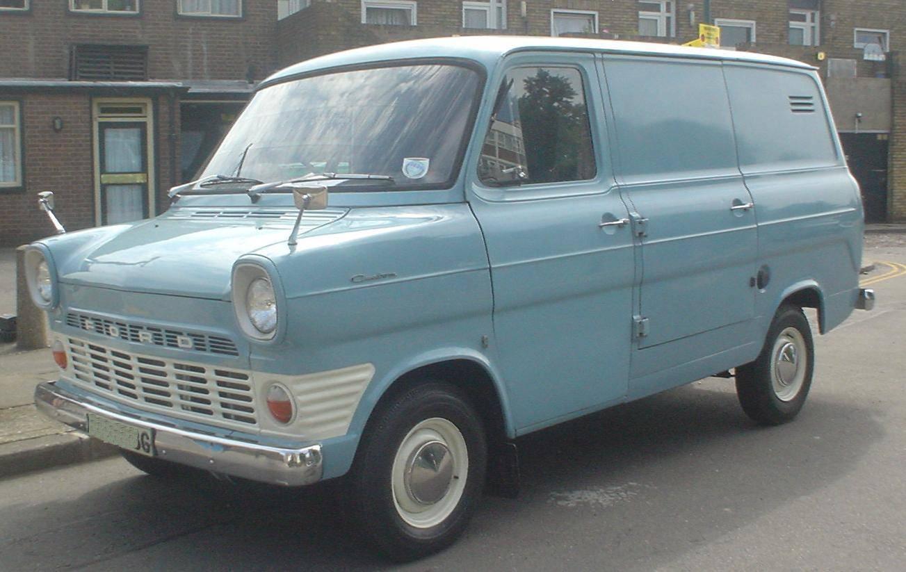 1960s transit panel van