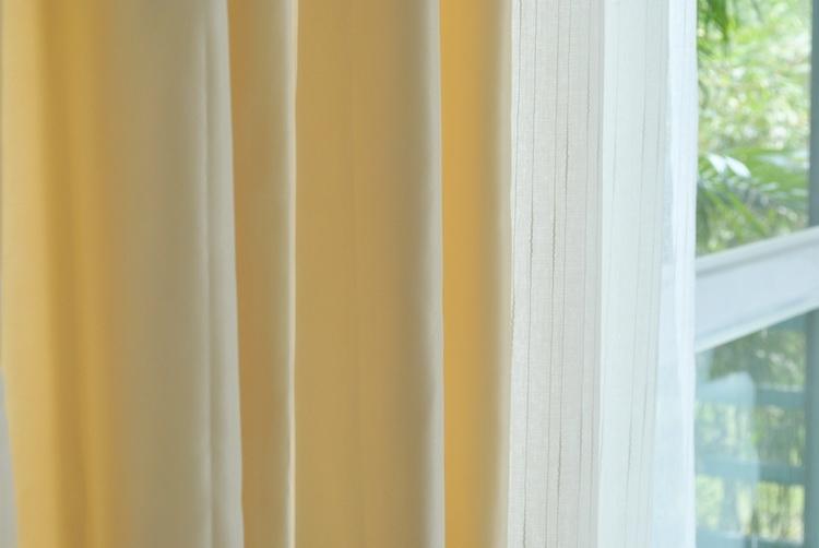 Luxury Fine  Ivory Silk Satin Blackout Curtains Panel Pinch Pleat 25W X 96L