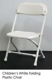 White Children Chairs