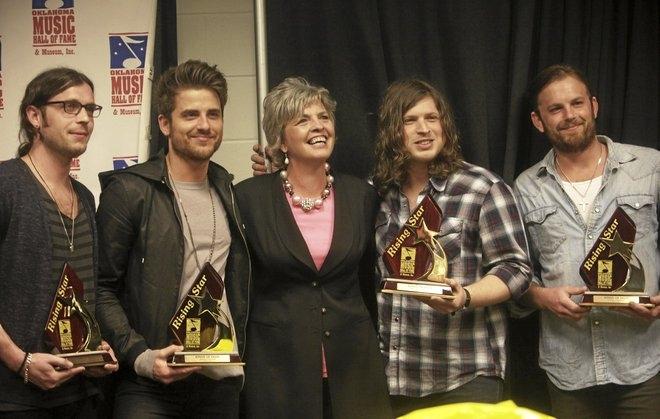 Oklahoma Music Hall of Fame's Rising Star Award (08 Apr 11)