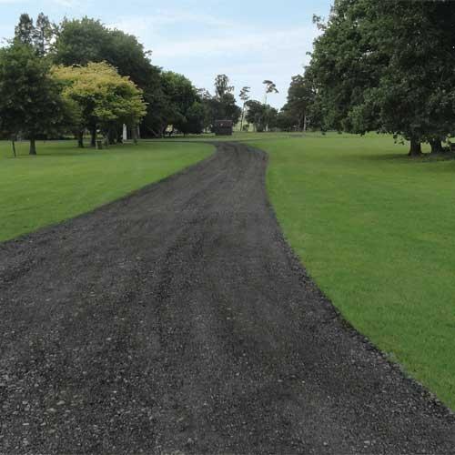 New Recycled Asphalt Driveway