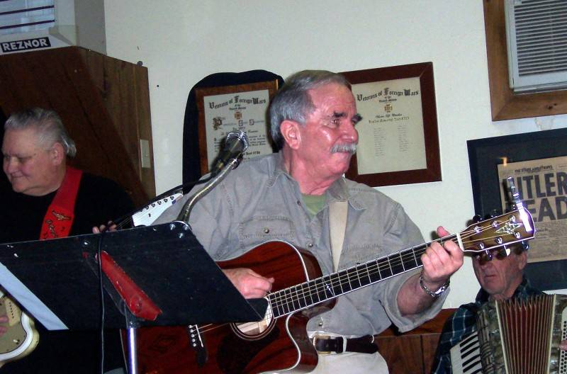 Ozzie and Jim at Naples VFW