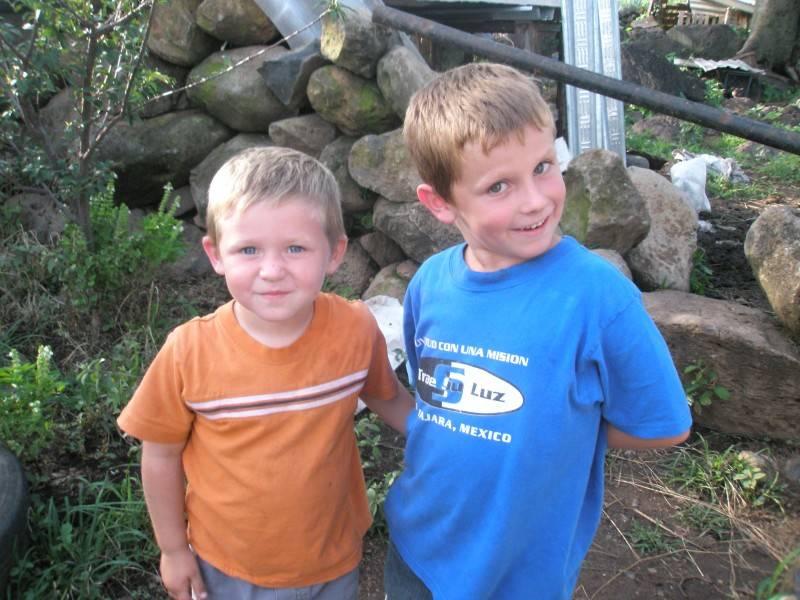 Averic and Benjamin