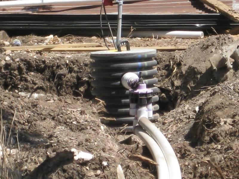 Riser to pump chamber & auto switch valve