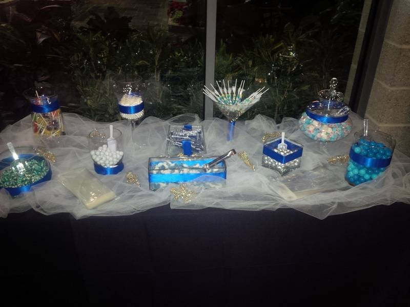 Winter Wonderland Candy Bar